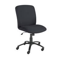 Safco 3490 Uber Big and Tall Armless High Back Task Chair Adjustable Height