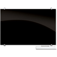 Balt 84065 Visionary Magnetic Black Glass Dry Erase Board 4 x 8