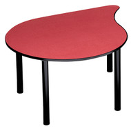 """Russwood PT-ORB-250C Palette Orbit Table 25"""" Fixed Height"""