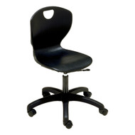 Scholar Craft 310 Ovation Task Chair 17.5 to 22.5 inch Adjustable Height with Casters