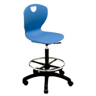 Scholar Craft 310L Ovation Lab Chair 24.5 to 34.5 inch Adjustable Height with Casters