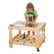 Jonti-Craft 58502JC Birch Creative Caddie Discovery Table without Bins