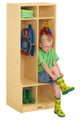 Jonti-Craft 4682JC Double Locker Unit with Step