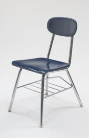 "Scholar Craft CDF1415 Bookrack Chair 15.5"" Seat Height"