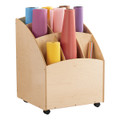 Jonti-Craft 3863JC Birch Paper Roll Bin