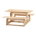 Jonti-Craft 3820JC Birch Picnic Table