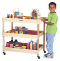Jonti-Craft 2930JC Birch Utility Cart