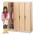 Jonti-Craft 2621JC Five Section Lockers with Doors