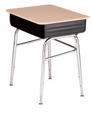Scholar Craft CDF2000 Open Front Student Desk Adjustable Height