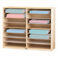 Jonti-Craft 1714JC Birch 16 Mat Storage