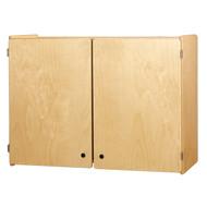 Jonti-Craft 0945JC Birch Wall Cabinet