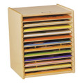Jonti-Craft 0602JC Birch Puzzle Case