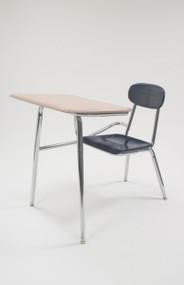 CDF5017 Hard Plastic Combination Chair Desk