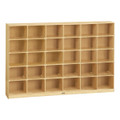 Jonti-Craft 0430JC Birch 30 Tray Mobile Storage without Trays