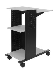 H Wilson WPS4 Adjustable Shelf Presentation Cart