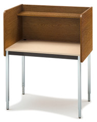 Smith Carrel 01607 Single Sided Fixed Height Starter Study Carrel