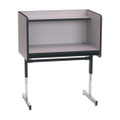 Smith Carrel 01700 Single Sided Pedestal Base Carrel