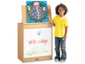 Jonti-Craft 0543JC011 Maplewave Big Book Easel with Write n Wipe
