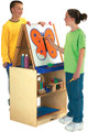 Jonti-Craft 02891JC Two Station Easel School Age