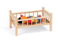 Jonti-Craft 6305JC Birch Traditional Doll Bed
