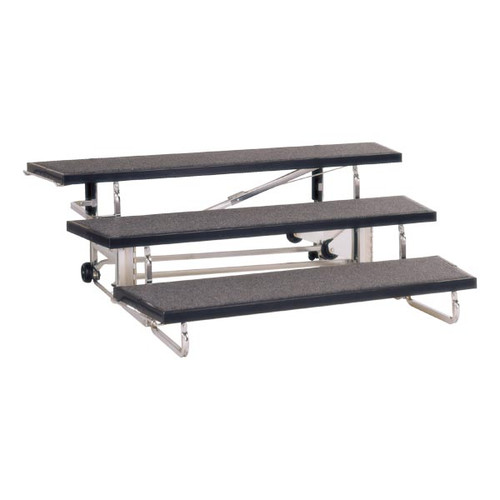 Wide Transfold Choral Riser TFR72 by Midwest Folding Prodcuts