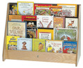 Four Shelf Book Display Steffy Wood SWP1060