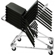 National Public Seating DY 82 18 Chair Stacking Truck