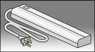 Smith Carrel 01651 Fluorescent Light Fixture