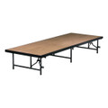 Portable Stage and Seated Choral Riser Single Height Hardboard Deck Midwest 4624H