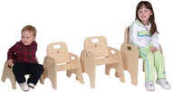 "Steffy Wood SWP1363 11"" Toddler Chair"