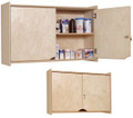 Locking Wall Storage Cabinet Steffy Wood SWP1424