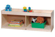 Steffy Wood Products ANG1503 Toddler Storage with Mirror Back