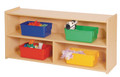 Toddler 2 Shelf Storage Steffy Wood SWP7148