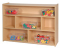 35 inch High Three Shelf Storage Steffy Wood SWP7150
