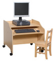 Computer Table Steffy Wood SWP7164  (Shown with optional chair).