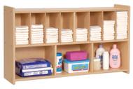 Wall Diaper Shelf Steffy Wood SWP7171