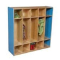 Wood Designs WD51200 Five Section Compact Locker Set