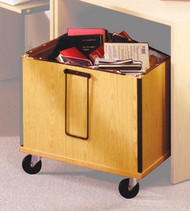Book Drop Cart CDBC Ironwood Manufacturing