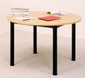Round Library Table GLTR4829 Ironwood Manufacturing