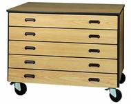 Mobile 2000 Series Drawer Storage 1026 Ironwood Manufacturing