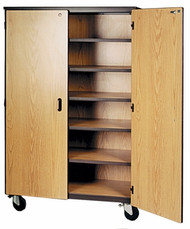 Mobile 1000 Series Closed General Storage with Locks 1041-CL Ironwood Manufacturing