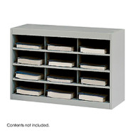 Safco 9254 EZ Stor Steel Project Organizer, 12 Compartments