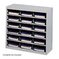 Safco 9264 EZ Stor Steel Project Organizer,18 Compartments