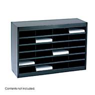 Safco 9211 EZ Stor Literature Organizer 24 Letter Size Compartments