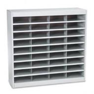 Safco 9221 EZ Stor Literature Organizer 36 Letter Size Compartments