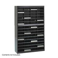 Safco 9231 EZ Stor Literature Organizer 60 Letter Size Compartments