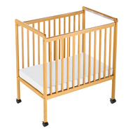Foundations 1632040 Safetycraft Clearview Fixed Side Crib