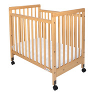 Safetycraft Slatted Fixed Side Crib by Foundations 1631040