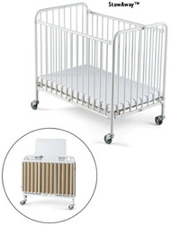 Stowaway Compact Steel Folding Crib by Foundations 1231090