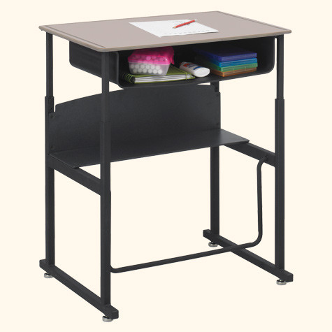 alphabetter desk stand up student desk 1202be